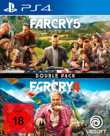 Far Cry 4 + Far Cry 5 Double Pack PlayStation 4