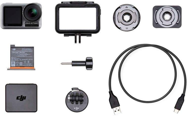 Action, Outdoorkameras - dji »OSMO Action« Action Cam (4K Ultra HD, Bluetooth, WLAN (Wi Fi)  - Onlineshop OTTO