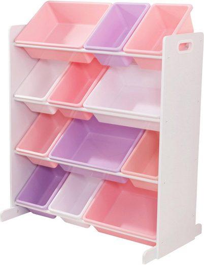 KidKraft® Regal, mit Aufbewahrungsboxen