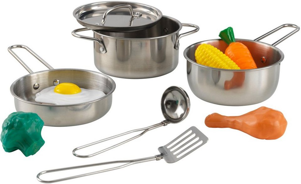 KidKraft® Kinder-Küchenset »Luxus Kochset«, (11-tlg) online kaufen | OTTO