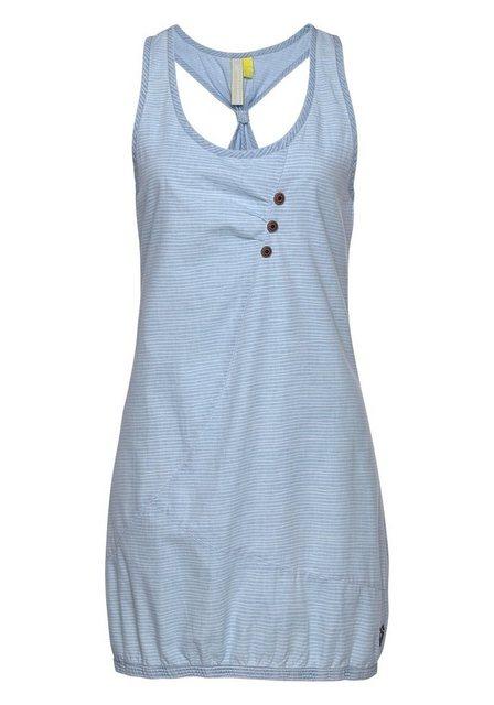 alife and kickin Jeanskleid »CameronAK A« hochwertiges Kleid mit modischem Ringerrücken und Streifen   Bekleidung > Kleider > Jeanskleider   alife and kickin