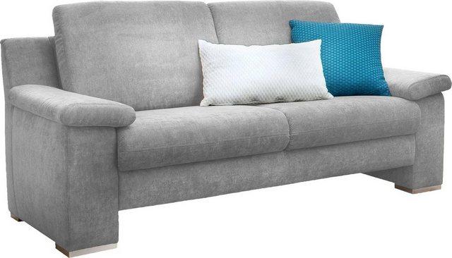 Sofas - DELAVITA 2 Sitzer »Valletta«, wahlweise mit Einzelsitzauszug und mit klappbaren Armteilen  - Onlineshop OTTO