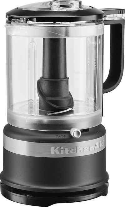 KitchenAid Zerkleinerer 5KFC0516EBM, 240 W, 1,2 l. Farbe: matt schwarz