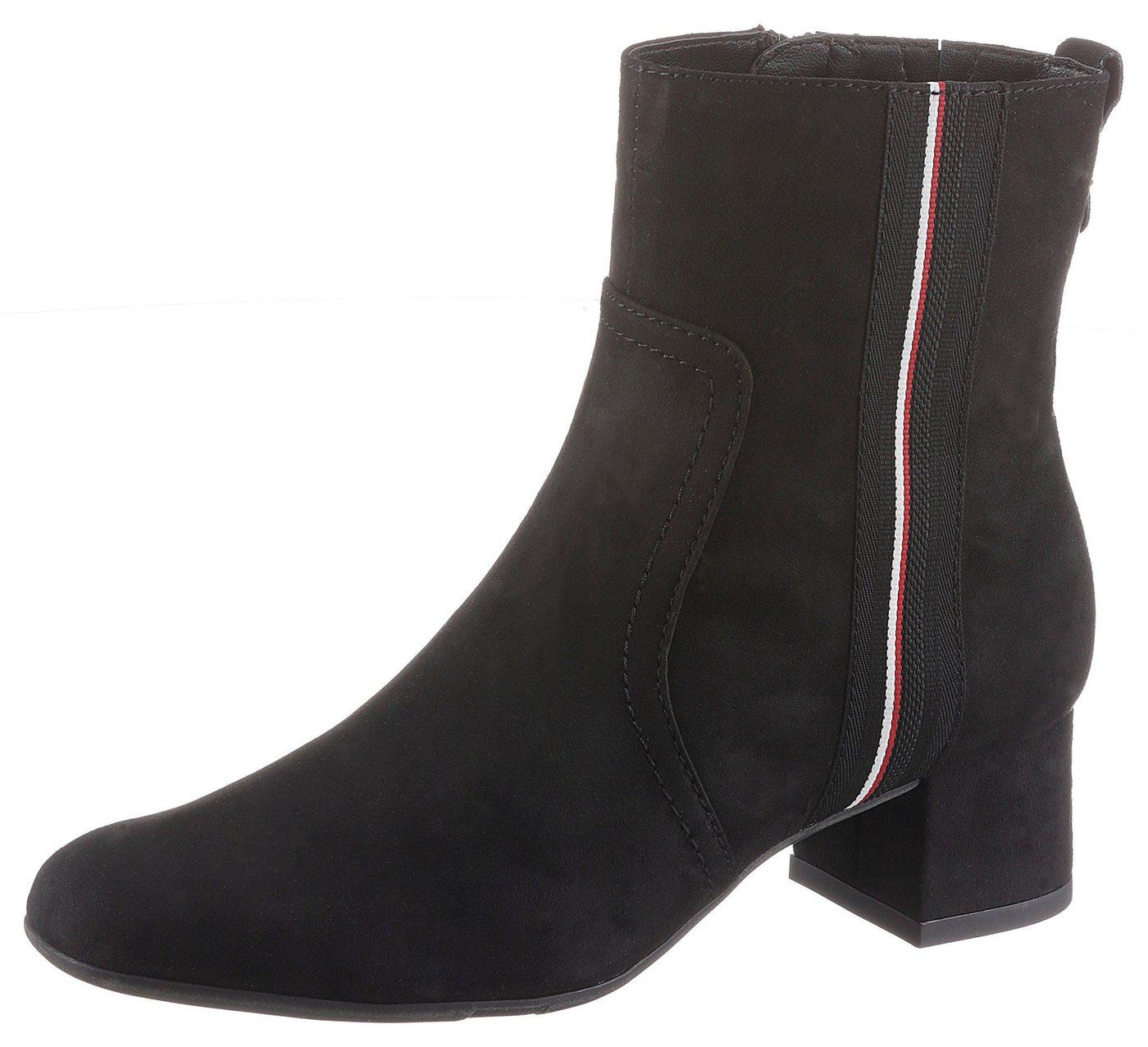 Damen Jana Stiefelette in bequemer Schuhweite G (weit) schwarz  Damen Stiefeletten