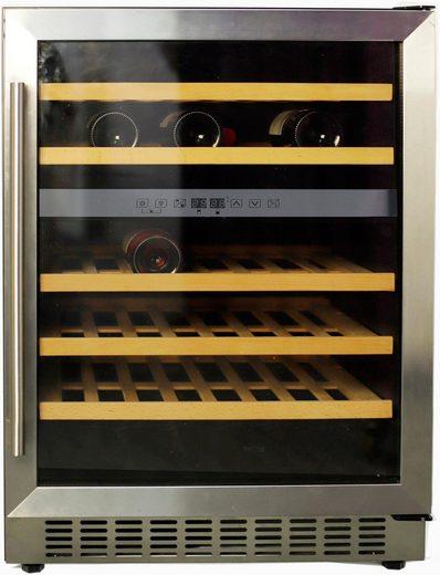 Hanseatic Weinkühlschrank 92525356, für 46 Standardflaschen á 0,75l,unterbaufähig