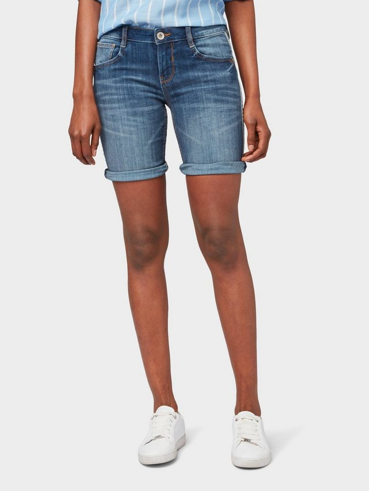 5f29b977dbe922 TOM TAILOR Jeansbermudas »Carrie Bermuda Shorts« | OTTO