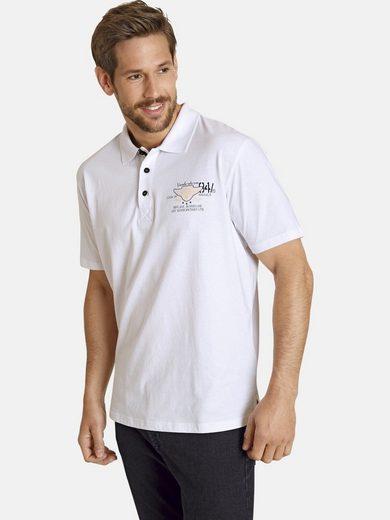 Jan Vanderstorm Poloshirt »BARIUS« aus reiner Baumwolle