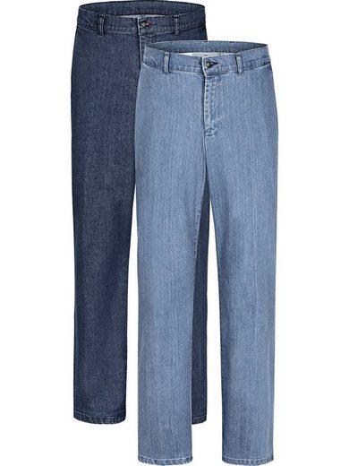 Jan Vanderstorm Regular-fit-Jeans »Set: HALLFRED« (Packung, 2er-Pack)