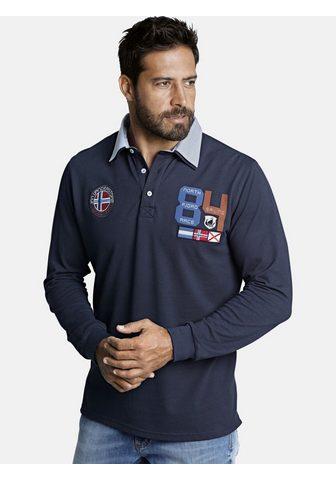 JAN VANDERSTORM Polo marškinėliai ilgomis rankovėmis »...