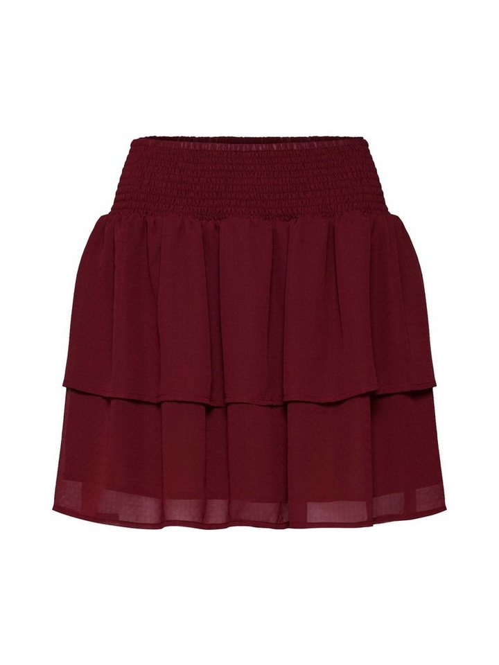 minimum A-Linien-Rock »Antoinette« Volant   Bekleidung > Röcke > A-Linien Röcke   Rot   minimum