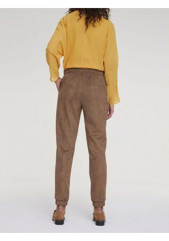 HEINE CASUAL kelnės in Verstos odos imitacij...