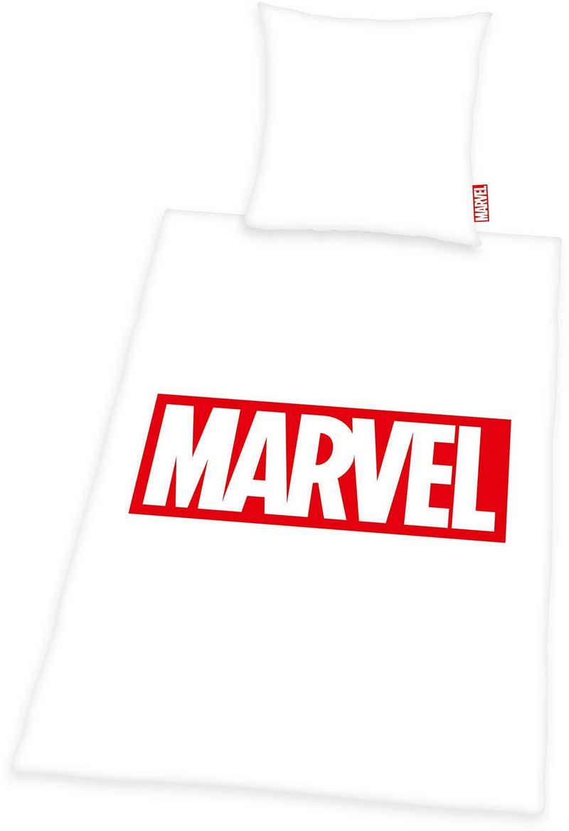 Bettwäsche »Marvel«, MARVEL, mit Logodruck
