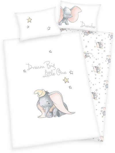 Babybettwäsche »Disney´s Dumbo«, Walt Disney, mit Sternen und feinem Motiv
