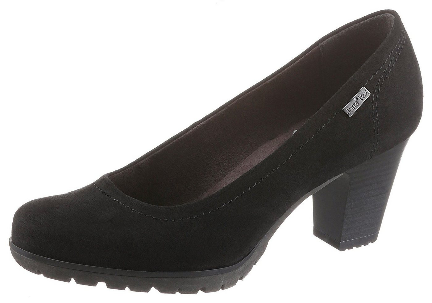 Damen Jana Pumps mit TEX-Membran schwarz  Damen Pumps