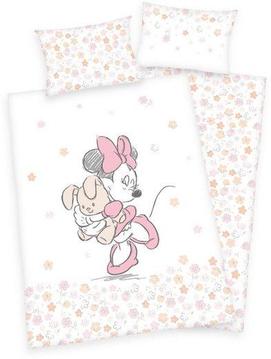 Babybettwäsche »Disney´s Minnie Mouse«, Walt Disney, mit Minnie und Sternen