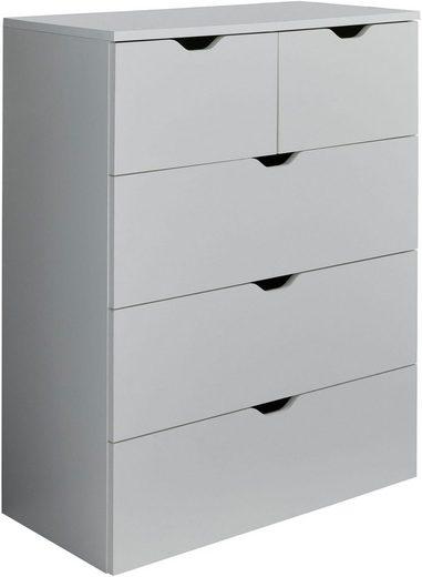 trendteam Kommode »Basix«, Breite 80 cm