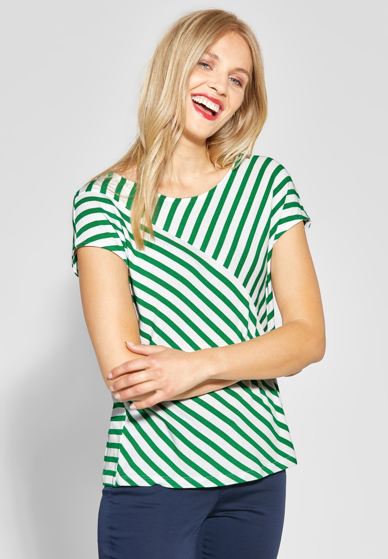STREET ONE Rundhalsshirt im Streifen Design kaufen | OTTO