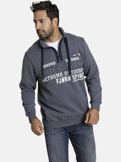 Jan Vanderstorm Sweatshirt »RAGUEL« mit großflächigem Print