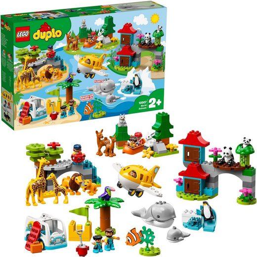LEGO® Konstruktionsspielsteine »Tiere der Welt (10907), LEGO® DUPLO®«, (121 St)