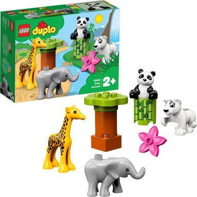 LEGO® Konstruktionsspielsteine »Süße Tierkinder (10904), LEGO® DUPLO®«, (9 St)