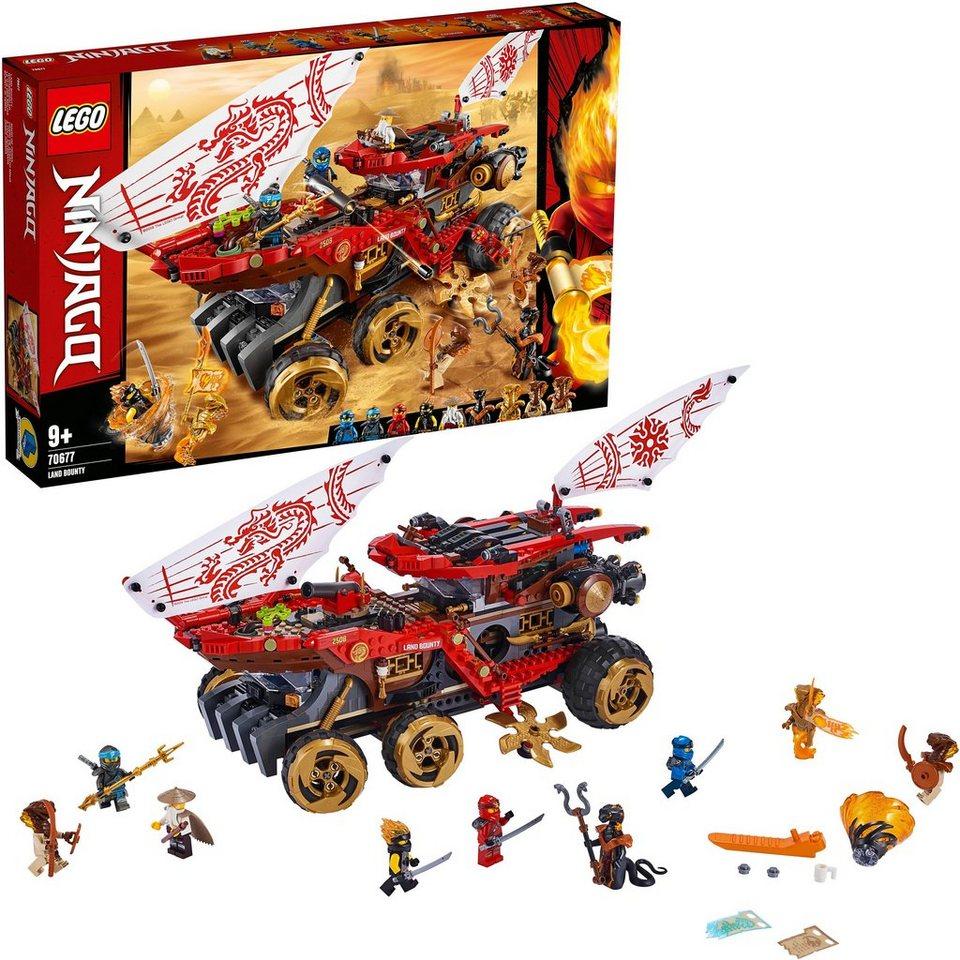Lego Konstruktionsspielsteine Wüstensegler 70677 Lego Ninjago 1178 St Online Kaufen Otto