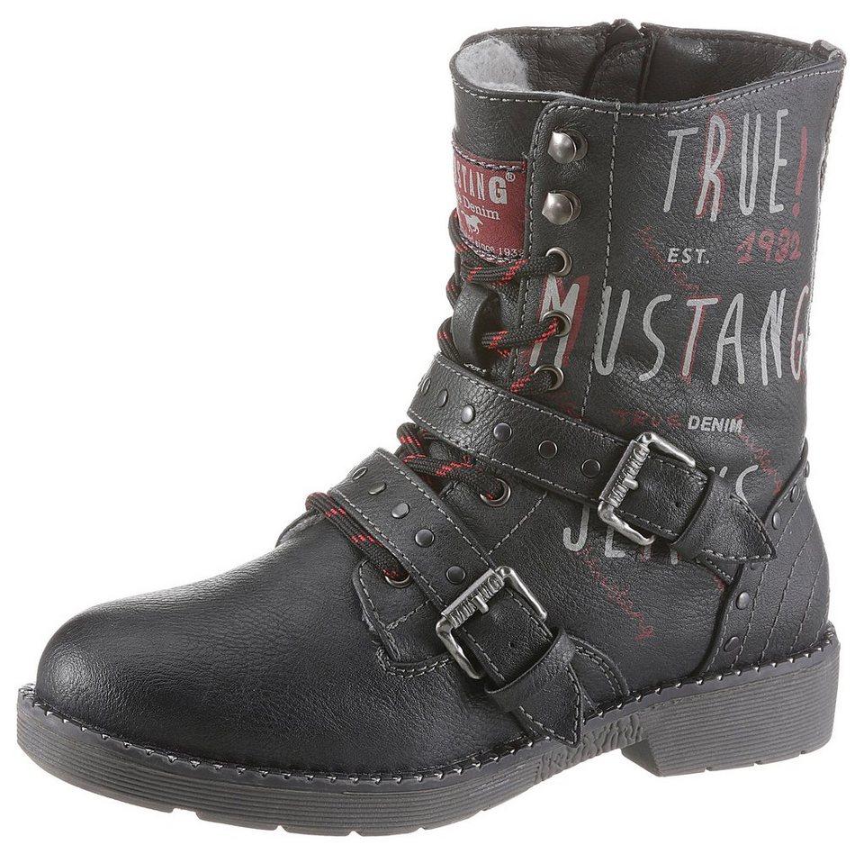 hot sale online 898b1 402c0 Mustang Shoes Winterstiefel mit praktischem Reißverschluss online kaufen |  OTTO