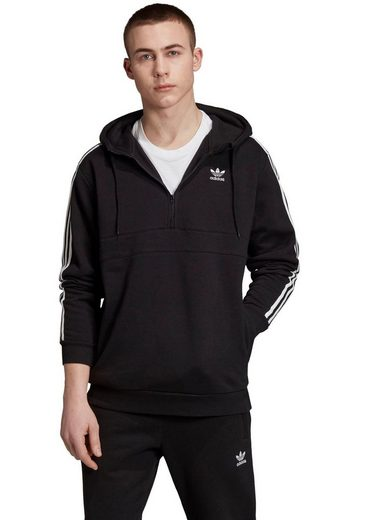 adidas Originals Kapuzensweatshirt »3 STRIPES HALF ZIP«