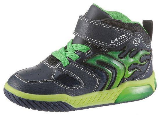 Geox Kids »Blinkschuh Inek Boy« Sneaker mit weicher Lederinnensohle