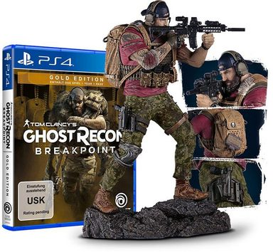 Ghost Recon Breakpoint Gold Edition PlayStation 4, Nomad Figur 23 cm hoch