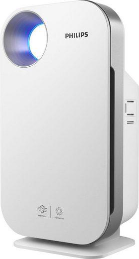 Philips Luftreiniger AC4550/10, Allergiemodus, weiß, für 104 m² Räume