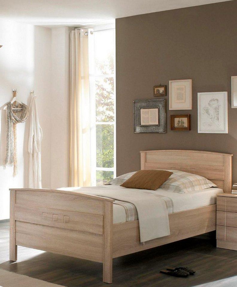 bv vertrieb Schlafzimmer Set Nachtkonsole Sonoma Eiche Nachtschrank mit 3 Schubladen Eiche sonoma 1918 online kaufen
