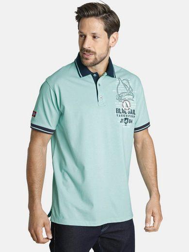 Jan Vanderstorm Poloshirt »DAGNAR« bequeme Passform