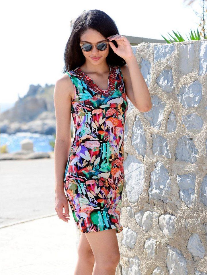 9d493e7fe632 Alba Moda Kleid mit farbigen Steinen online kaufen | OTTO