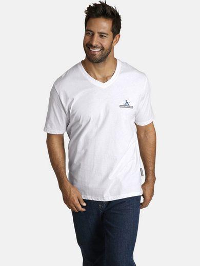 Jan Vanderstorm V-Shirt »Set: TORM« (Packung, 2er-Pack) in verschiedenen Designs