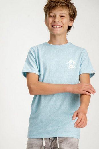 Garcia T-Shirt mit kleinem Logoaufdruck