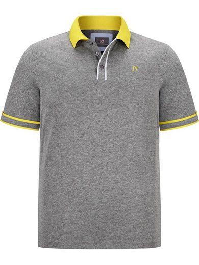 Jan Vanderstorm Poloshirt »ISFRIED« mit farblichen Kontrasten