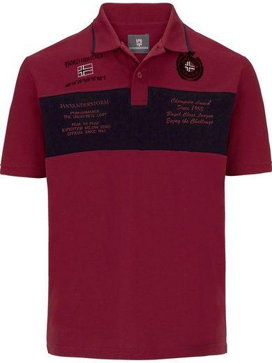 Jan Vanderstorm Poloshirt »TJALF«
