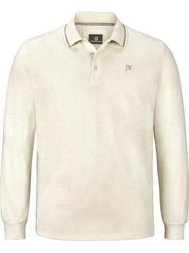 Jan Vanderstorm Langarm-Poloshirt »ELLIS« im geradlinigen Design