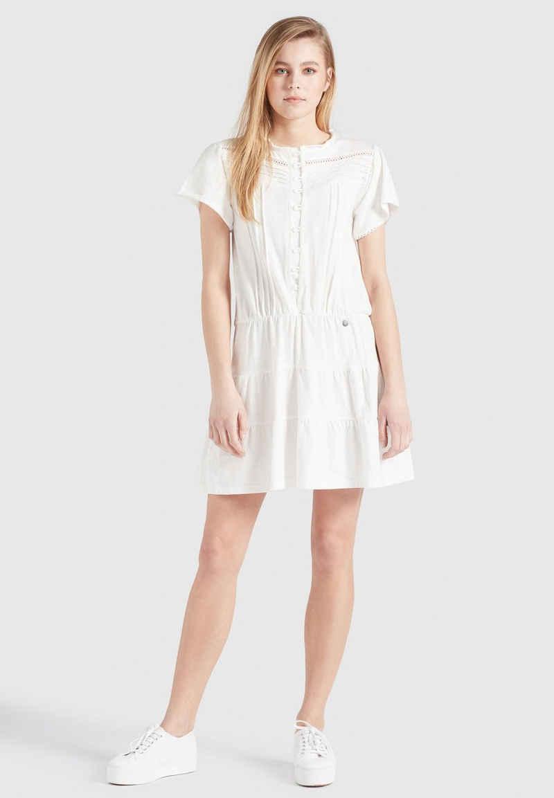 khujo Blusenkleid »KAPUA« aus Baumwolle im Boho-Look