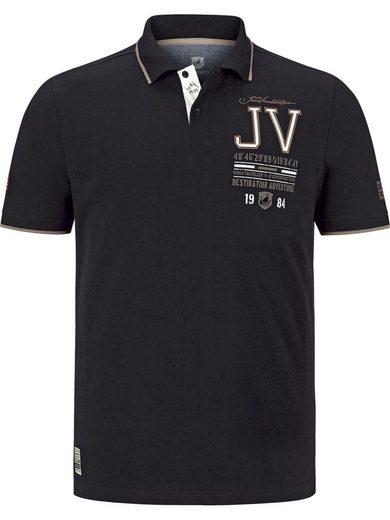 Jan Vanderstorm Poloshirt »VINNAN« mit modischen Akzenten