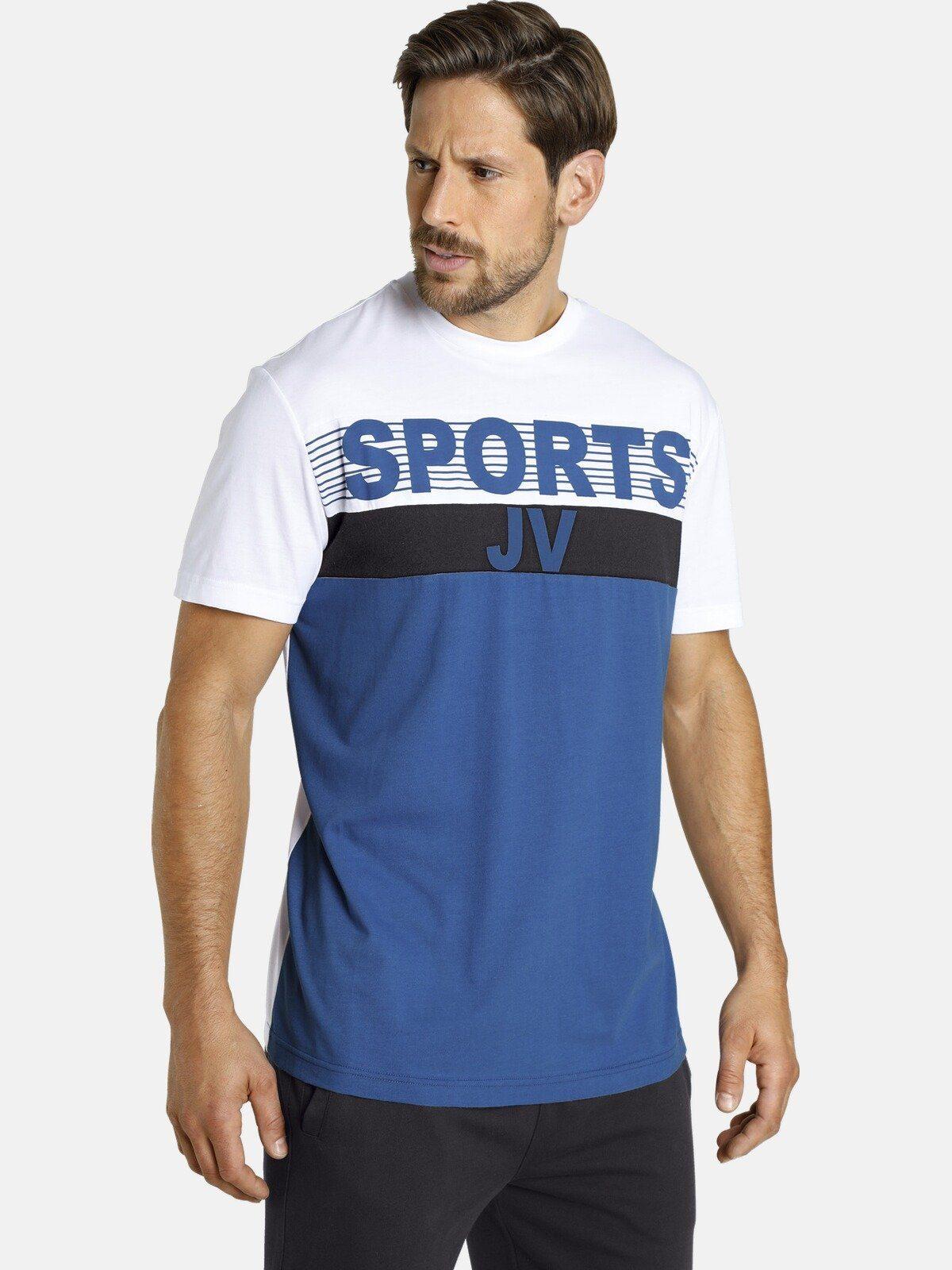 Jan Vanderstorm T Shirt »SÖLVE« in Doppellagen Optik online kaufen | OTTO