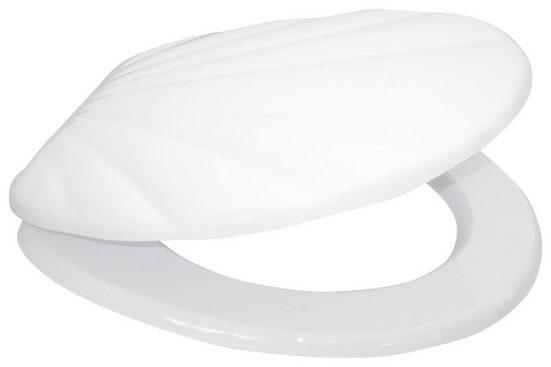 SANILO WC-Sitz »Muschel Weiß«