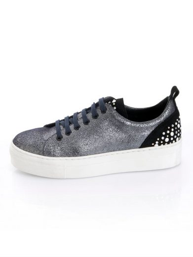 Alba Moda Sneaker mit Glanzeffekt