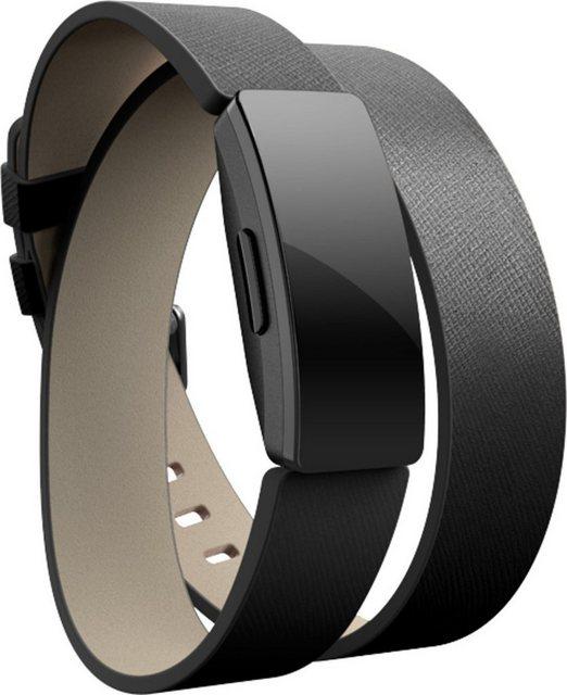 fitbit Ersatz-/Wechselarmband »Double Leather Wrap für Inspire«
