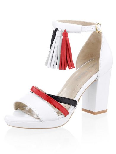 Alba Moda Sandalette im maritimen Style