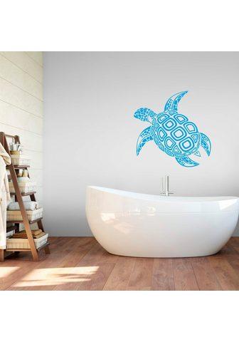 Sienos lipdukai »Schildkröte«
