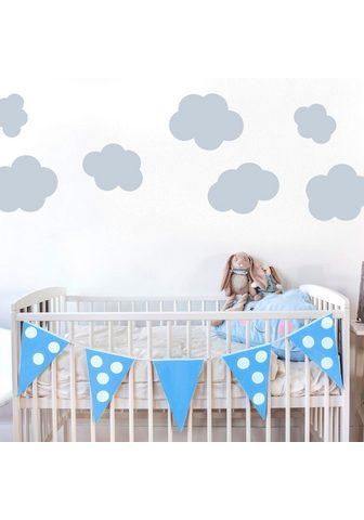 Sienos lipdukai »Wolken-Set«
