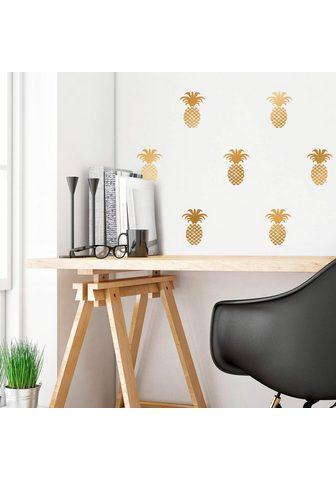 Sienos lipdukai »Ananas rinkinys«