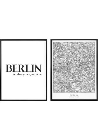 Plakatas »Berlin is always a good idea...