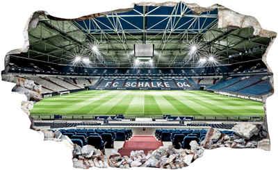 Wall-Art Wandtattoo »FC Schalke 04 Arena Tribüne«